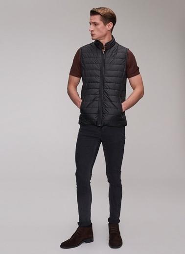 Clothing, Shoes & Accessories Faconnable Men's L Cotton Blue Button Up Vest Waist Coat