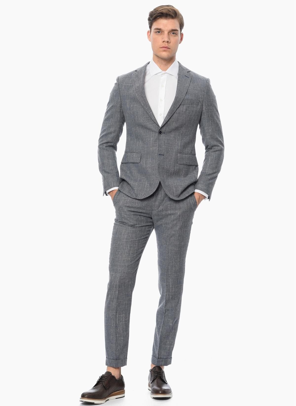 bdd5aff649b3e NetWork Erkek Takım Elbise Mavi 56-6 Beden 1060795007 Fiyatları ...