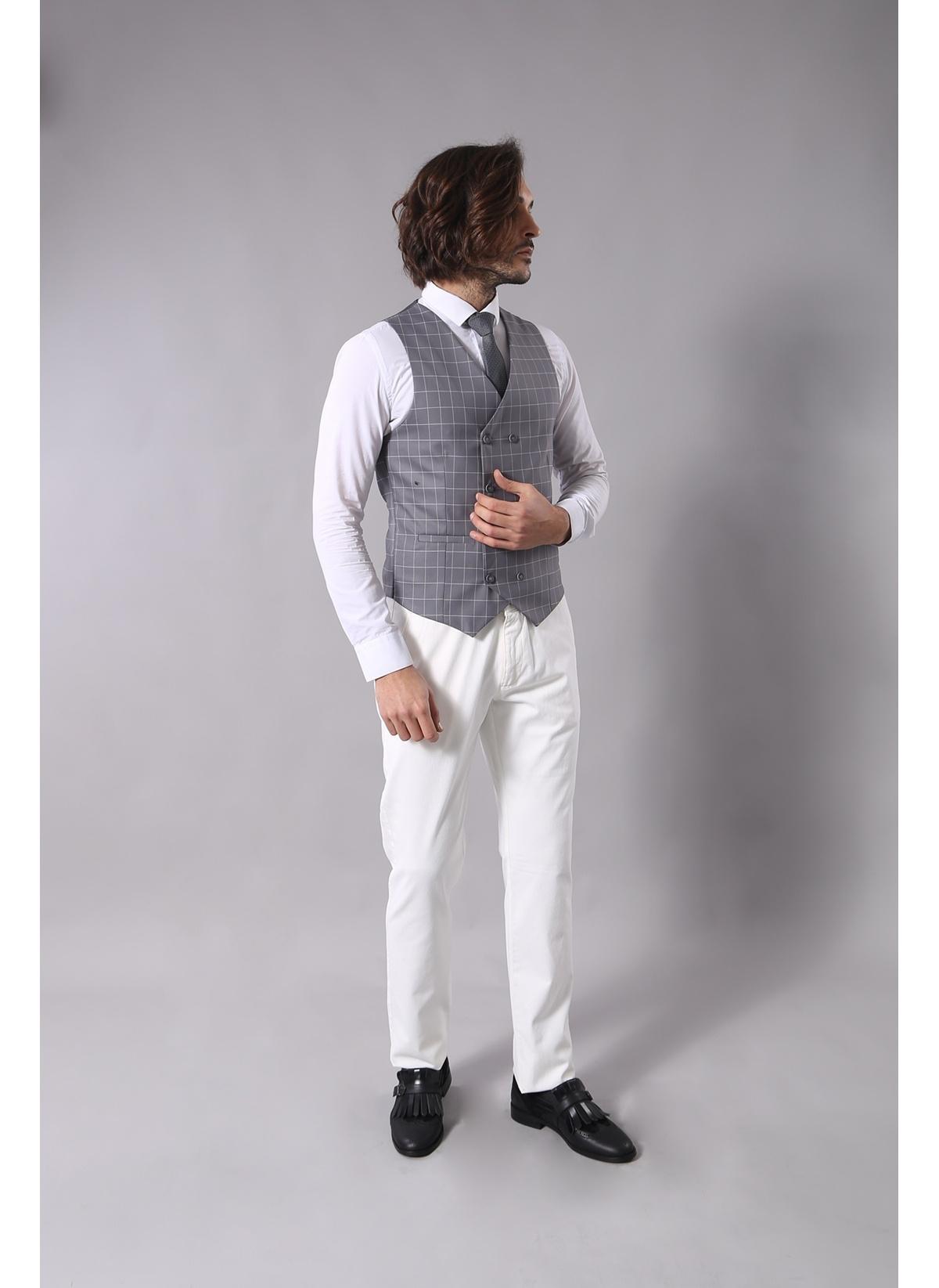 1d2063234909b Wessi Erkek Takım Elbise Gri 56 Beden TK-62160-103 Fiyatları ...